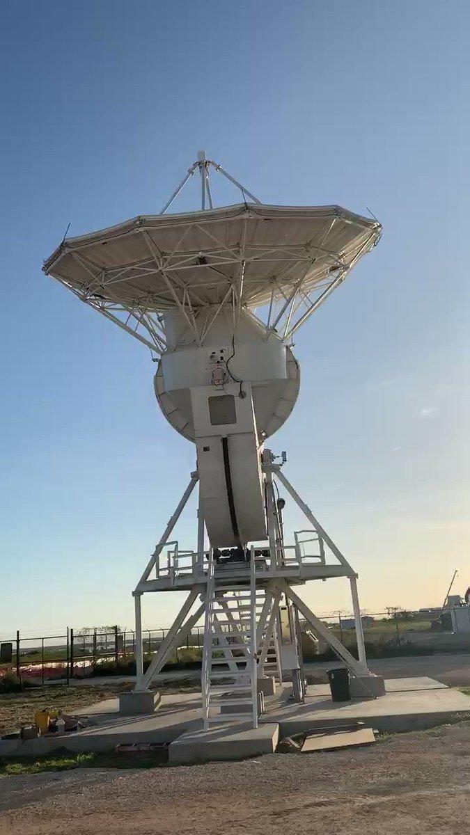 SpaceX Headquarters during the Iridium4 Mission December 2017