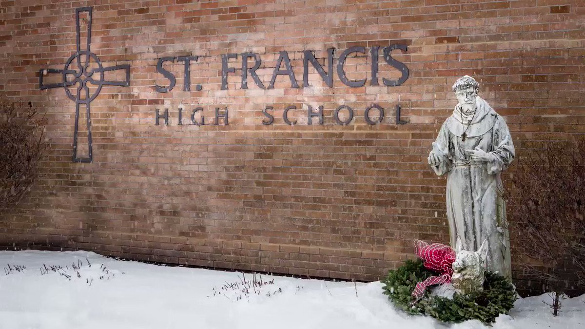 Merry Christmas and Happy  New Year from St. Francis High School!