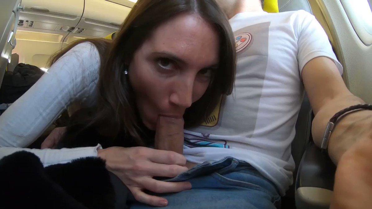 Airplane Blowjob Pics