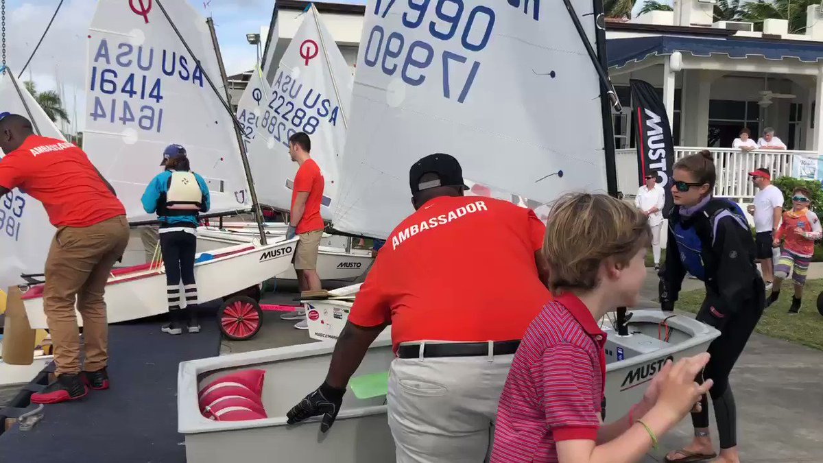 A great week for #YouthSailing in the U.S. #OBRegatta2018 🌞🌊⛵️