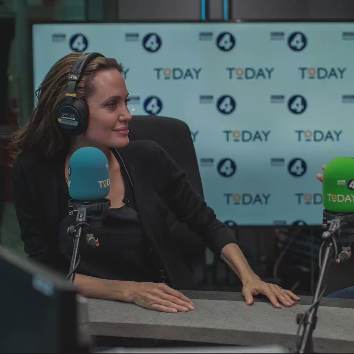 """Will Angelina Jolie run for president one day? She says she can """"get a lot done without a title"""" so """"will stay quiet for now"""" #r4today https://bbc.in/2CDo4DA"""