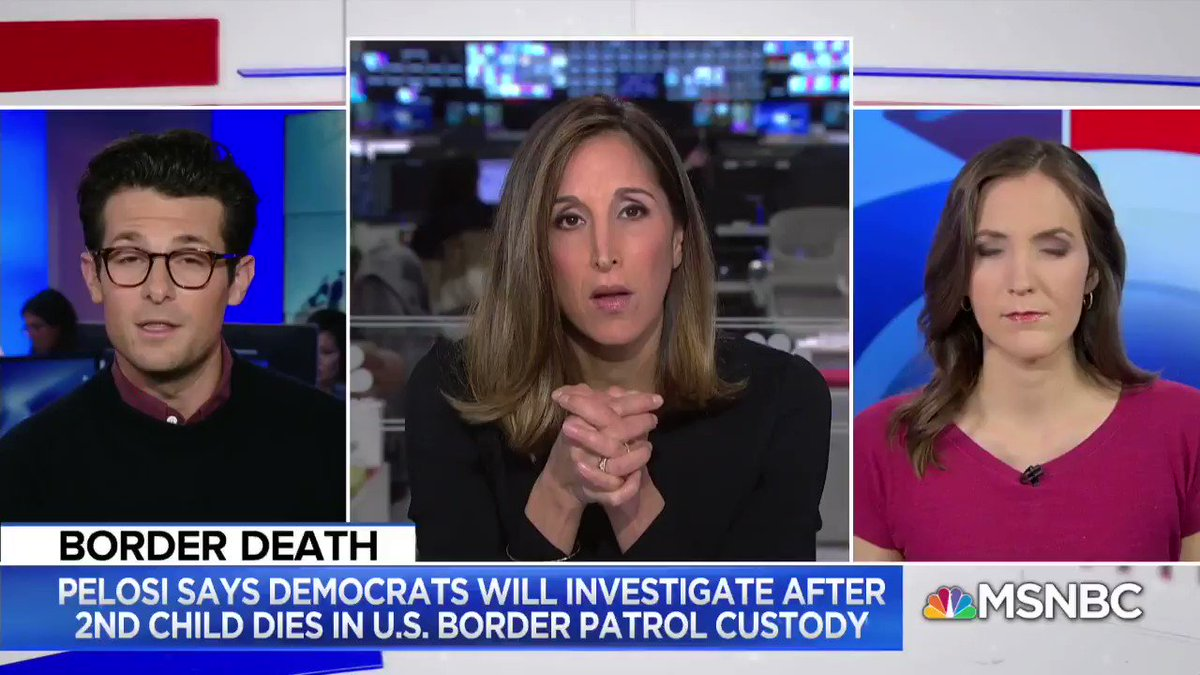 Trump blames Dems for migrant kids dying.  No.  DHS told reporters child hasn't died in CBP custody in 10 years — now two in a month.  Deterrence policy funneling migrants to deadly crossings started under Clinton but *only* targeted families under Trump.