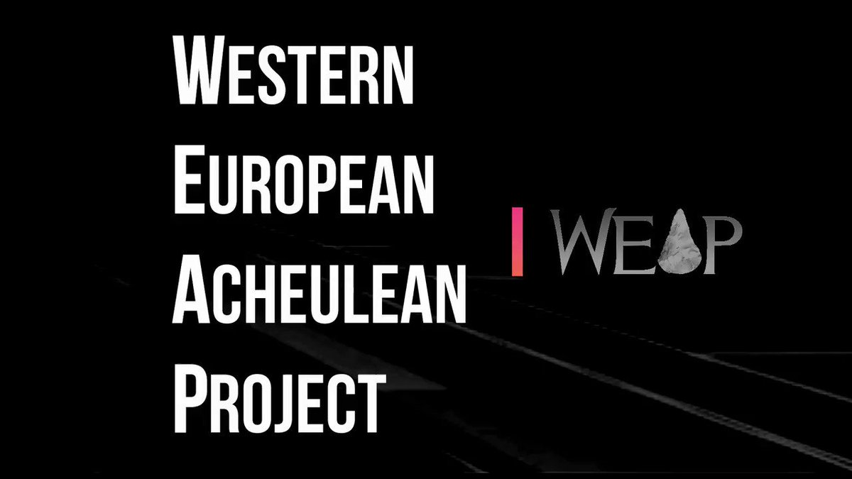 At the end of this fruitful year, I would like to summarise the whole set of sites included in #WEAP #Happy2019 #FossilFriday @britishmuseum @MSCActions More info at https://www.weap.es/news-/  #Acheulean #handaxes #Cleavers