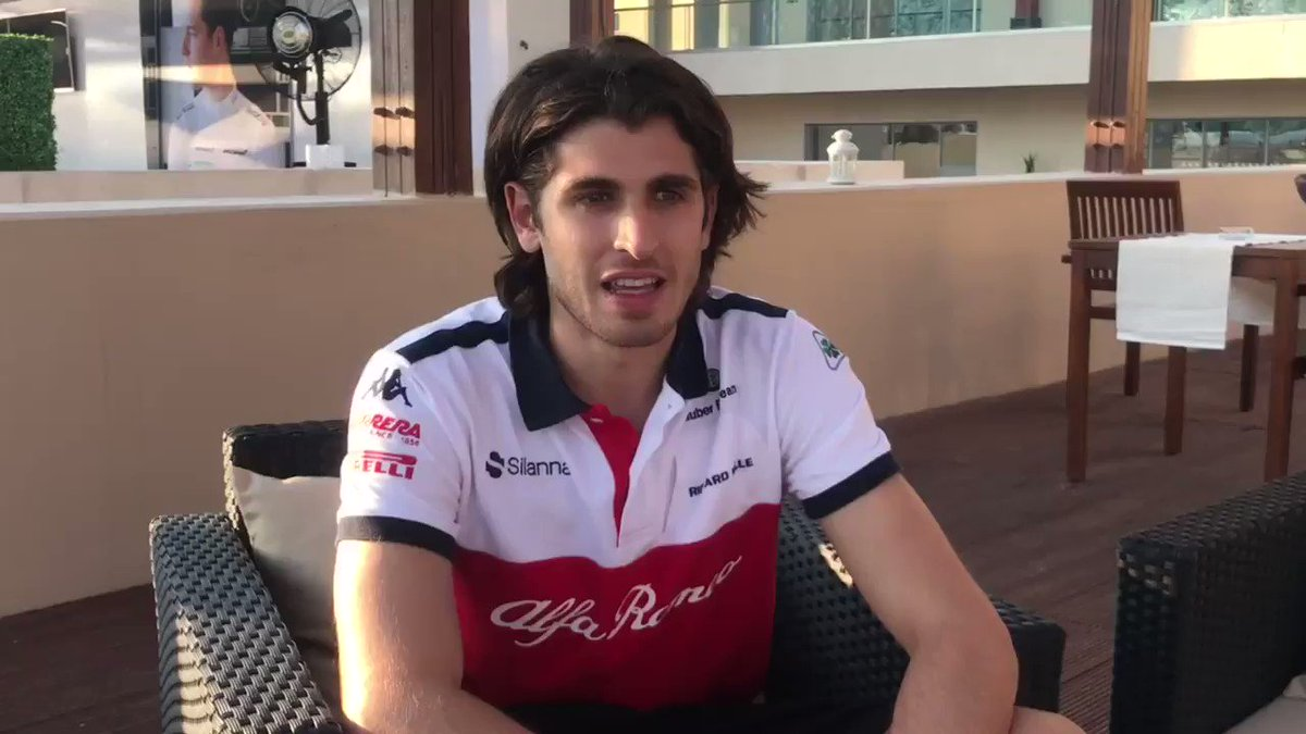 Not long to go until the New Year, see what @Anto_Giovinazzi is looking forward to in 2019!  #Alfaromeosauberf1team #F1