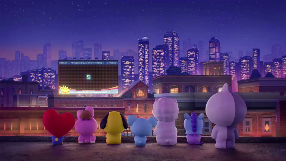 RT @BT21_: 5..4..3..2..1.. HAPPY NEW YEAR!! 🌃🎇🎆 #Exit_of_Excitement #CountDown #HELLO2019 #HappyNewYear #BT21 https://t.co/jZmCOEgQgo
