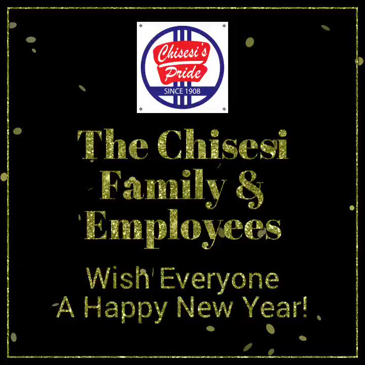 The Chisesi Family & our Employees want to wish all of you a very happy New Year! #2019 #HappyNewYears #chisesi #celebration #resolution #party #toast #cheerstoyou
