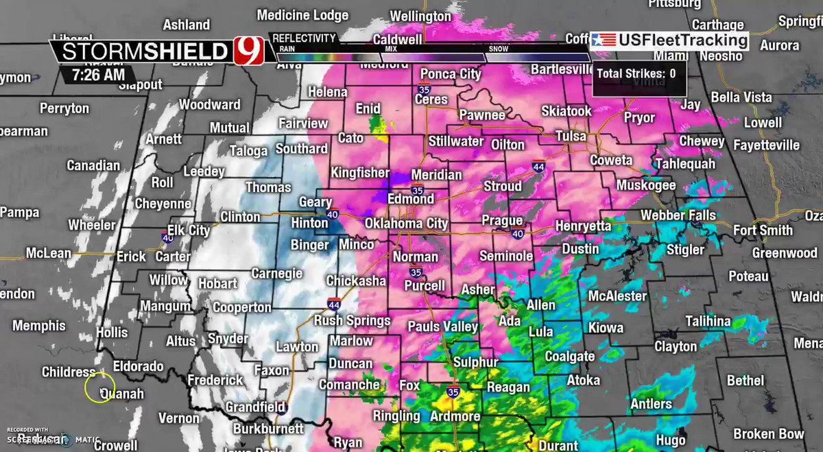 Live coverage: Oklahoma severe weather updates, closings