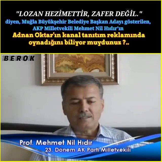AKP'nin Muğla Büyükşehir Belediyesi başkan adayı Mehmet Nil Hıdır'ı yakından tanıyalım. Şaşardık mı? @MuglaSiyaset48 #hayırlıcumalar #muğla