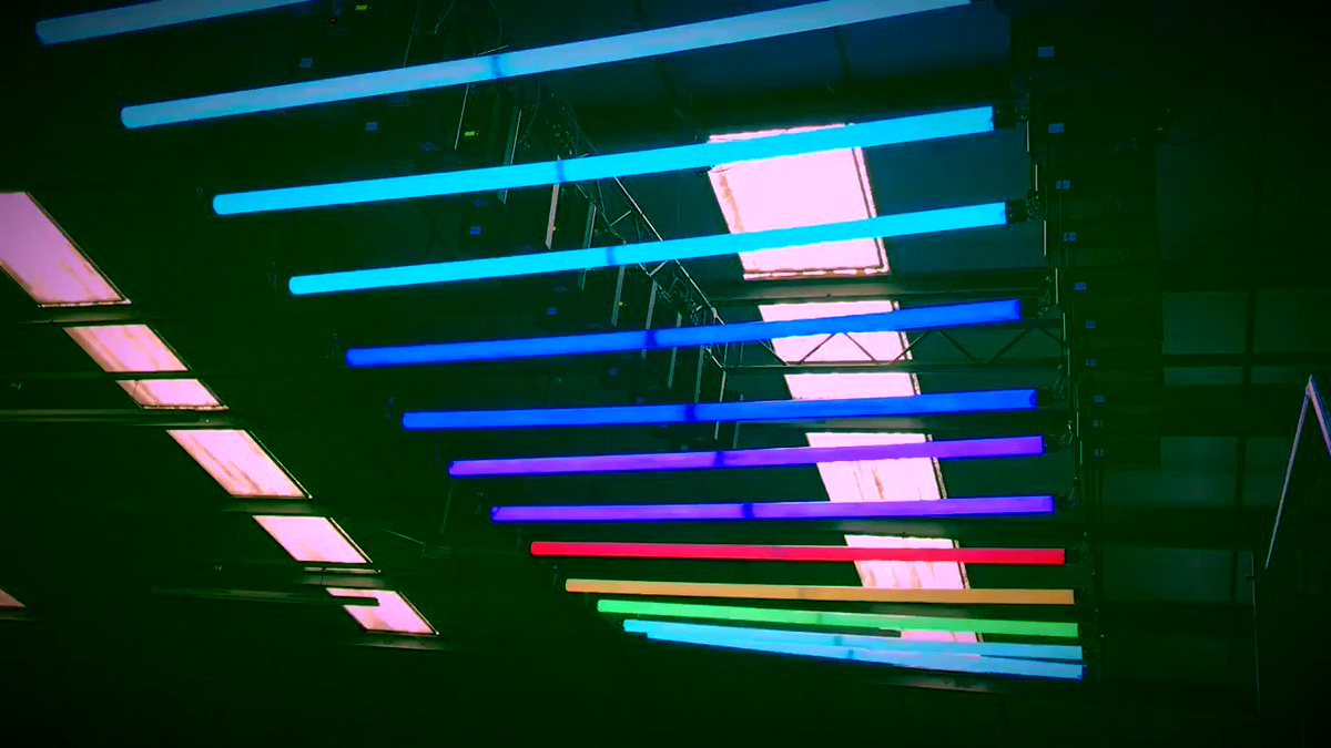 Image for the Tweet beginning: These mesmerizing DMX LED Lights