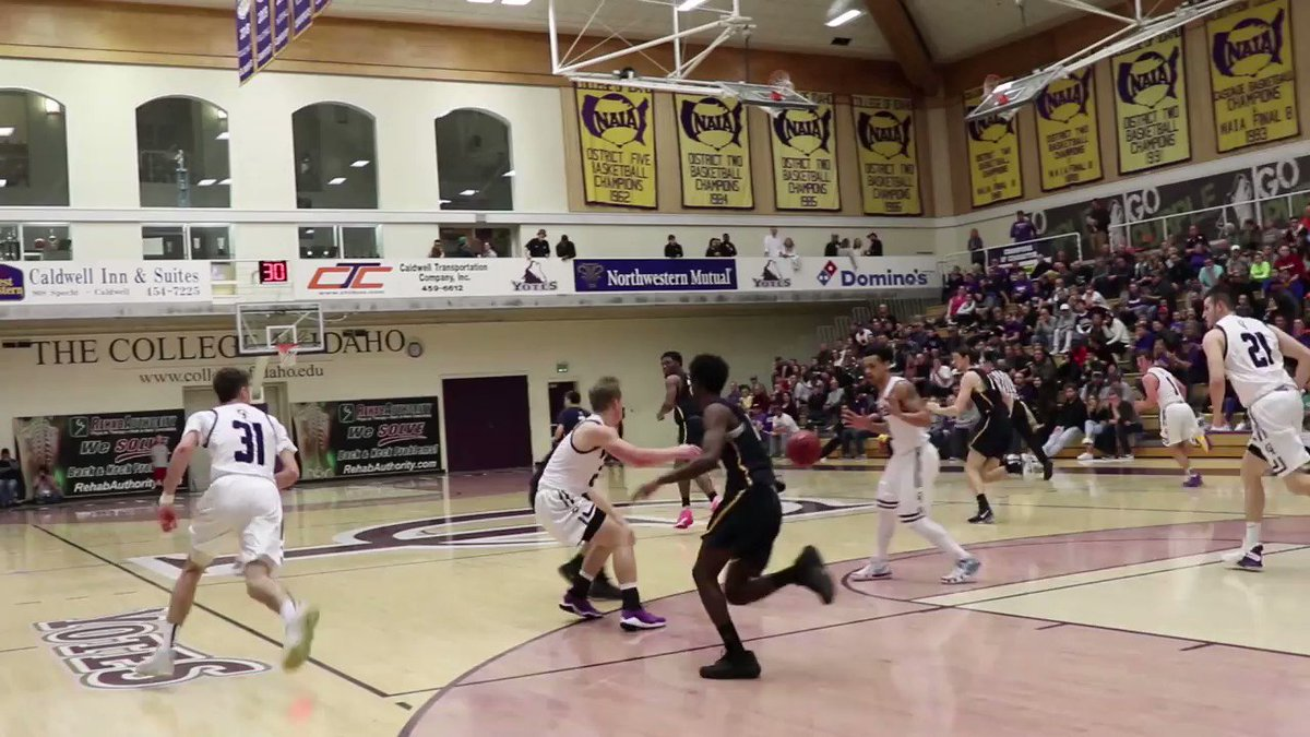 Nate Bruneel does it again!!!! This Dunk has to get on #SCTop10 !! Retweet and share this video to help us get it on @ESPN !! #SCTop10 #Top10 #TopPlays @NAIA #NAIATopPlays