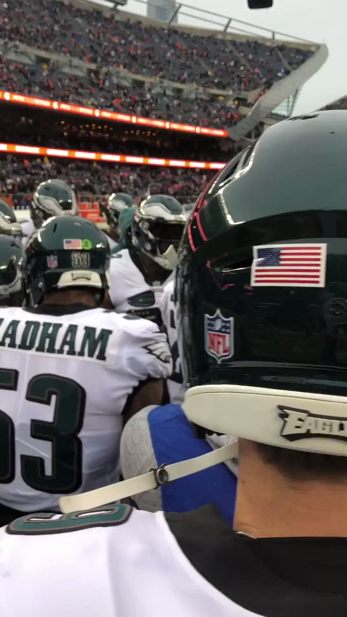 We all we got.  #FlyEaglesFly