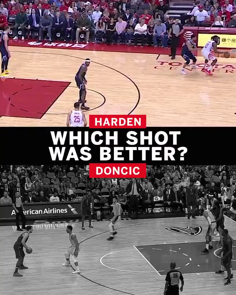 Harden or Doncic? Not wrong either way 💦