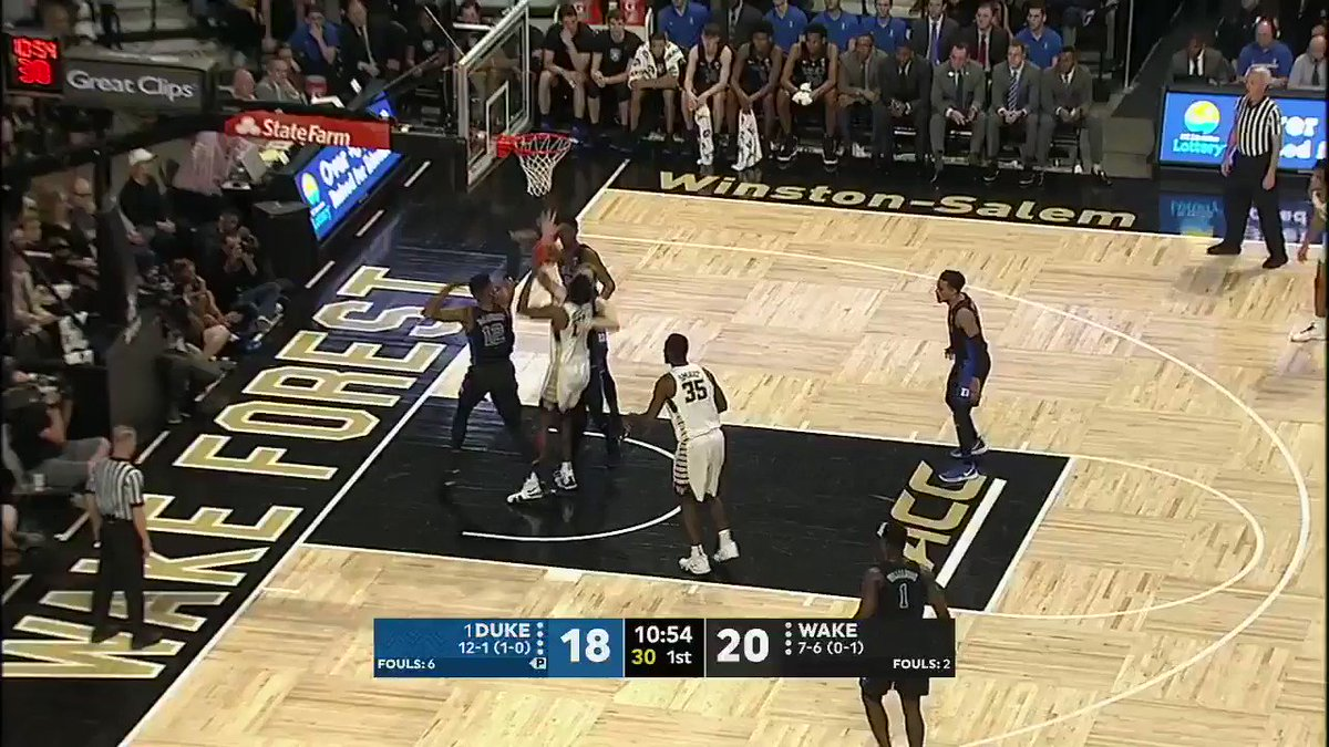 Just throw it somewhere near Zion and it's going in �� https://t.co/LZkiBOXG9z
