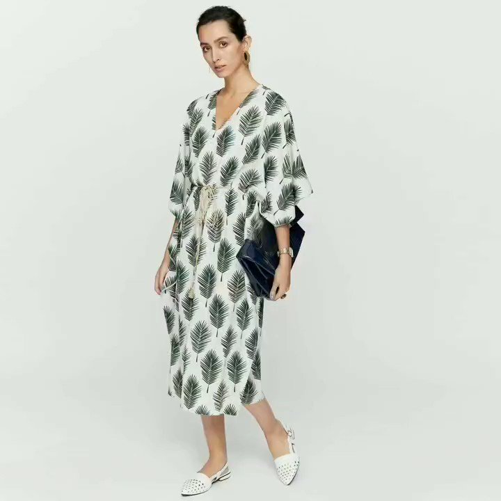 84749c22034 Slip into The Forest Kaftan by Guest Editor  payalsinghal to stay elegant  during the beach