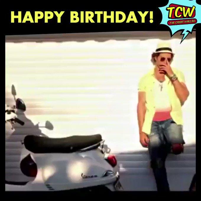 Happy Birthday Hrithik Roshan . .