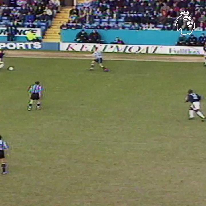 Vintage Paolo Di Canio!  A stunning opening goal set @swfc on their way to victory over Newcastle, #OnThisDay in 1998