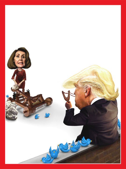 TIME's new cover: Trump and Pelosi are locked in their first battle. Neither can afford to lose http://mag.time.com/3POK8gn