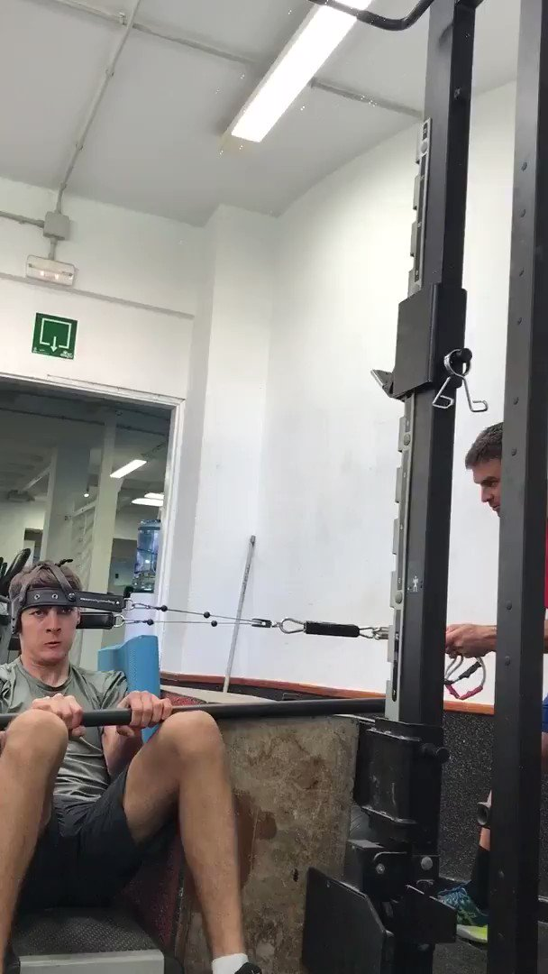 The daily gym looks while training to be a Formula 1 driver 😂