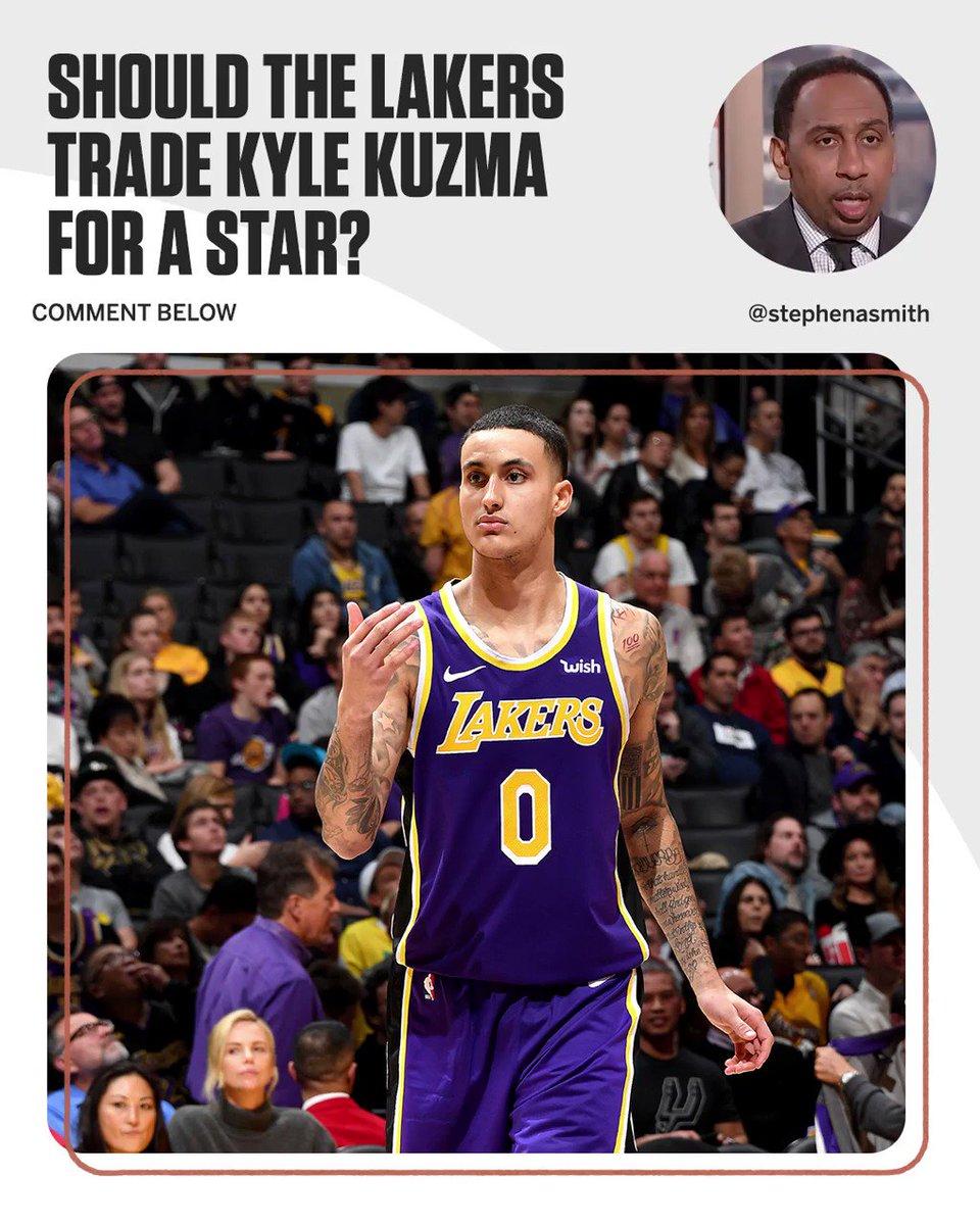 Magic Johnson should hold onto Kyle Kuzma for DEAR LIFE. https://t.co/1xNIqY4qwl