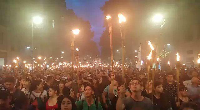 Cristina Alvarez Rodríguez's photo on #MarchaDeAntorchas