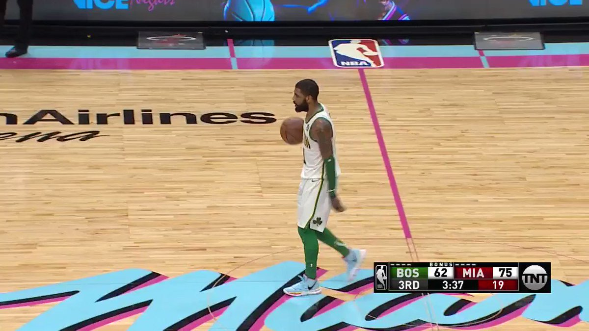 Kyrie up to 22 PTS on @NBAonTNT!  #CUsRise 70 #HEATCulture 78 https://t.co/hESwVUEuJG