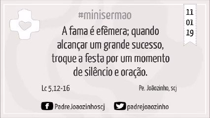Pe. Joãozinho, scj's photo on Lc 5