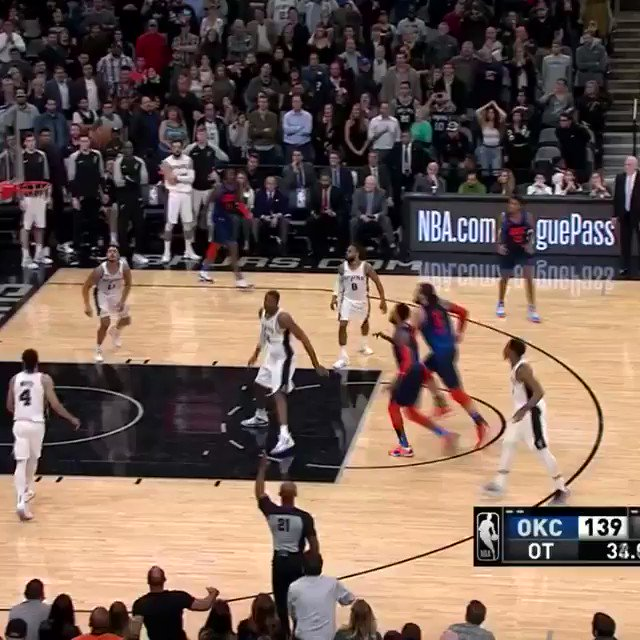 To send it to DOUBLE OVERTIME! #ThunderUp https://t.co/yXfe80p0KI