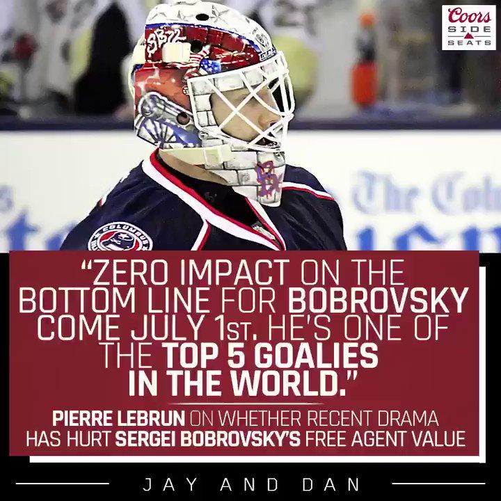 #JayAndDan's photo on Bobrovsky