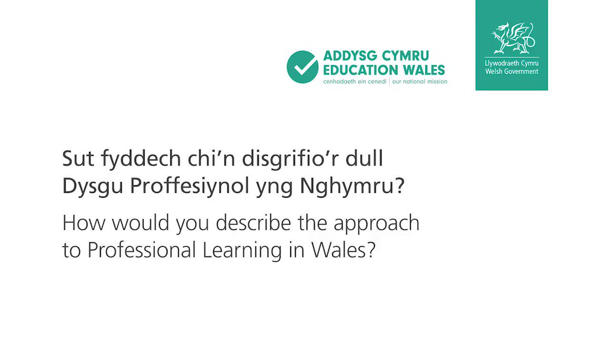 WG Education's photo on Wales