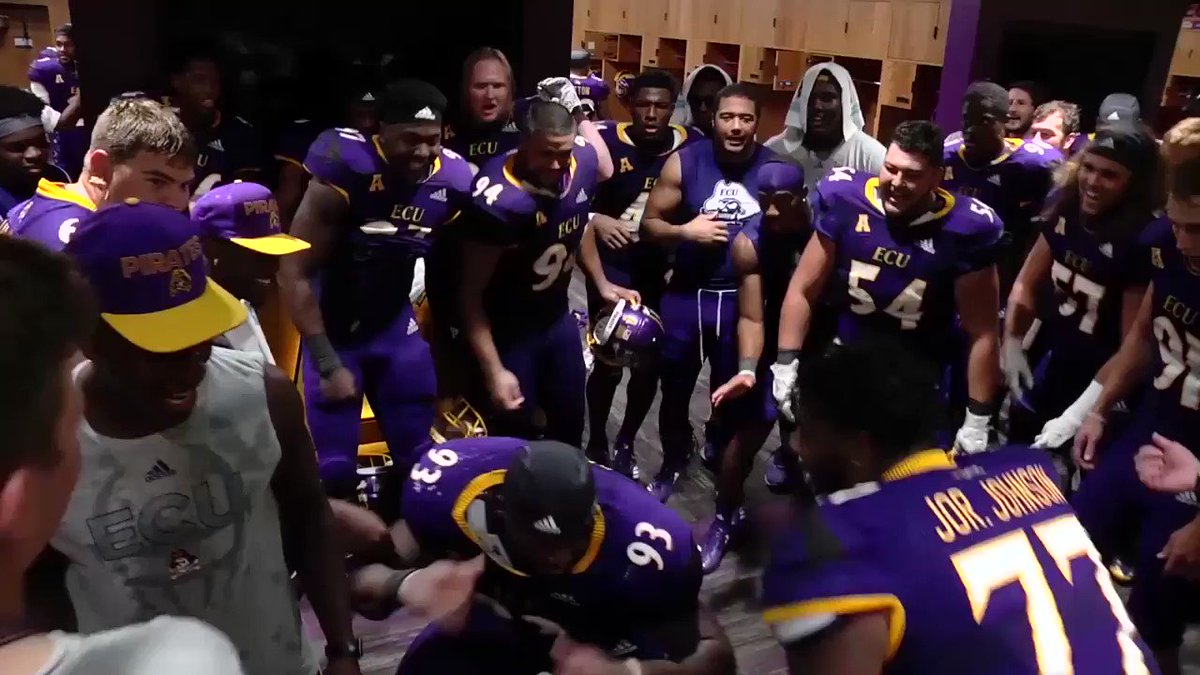 ECU Football's photo on Finally Friday