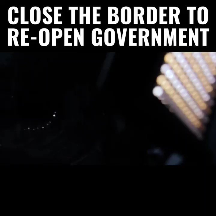 Fact: 95% of Border Patrol agents say WALLS WORK!  ...So why in the hell would we listen to Chuck and Nancy when they say they don't?  @realDonaldTrump—don't give in. Keep the government shut down as long as you have to  We should only open government once we close the border  RT