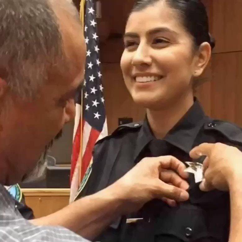 Bill Bratton's photo on Officer Natalie Corona