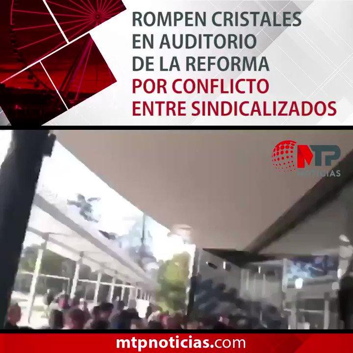 MTP Noticias's photo on Auditorio de la Reforma