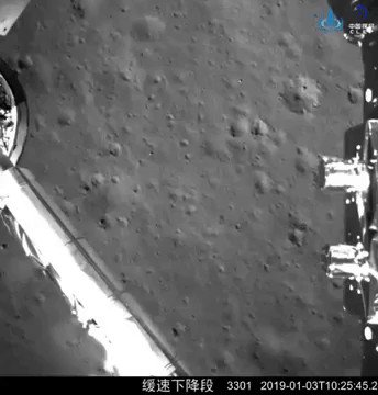 Chang'e-4 update: Both vehicles healthy!  New imagery and a video from the Moon's far side: https://t.co/1y1f1vXa8W