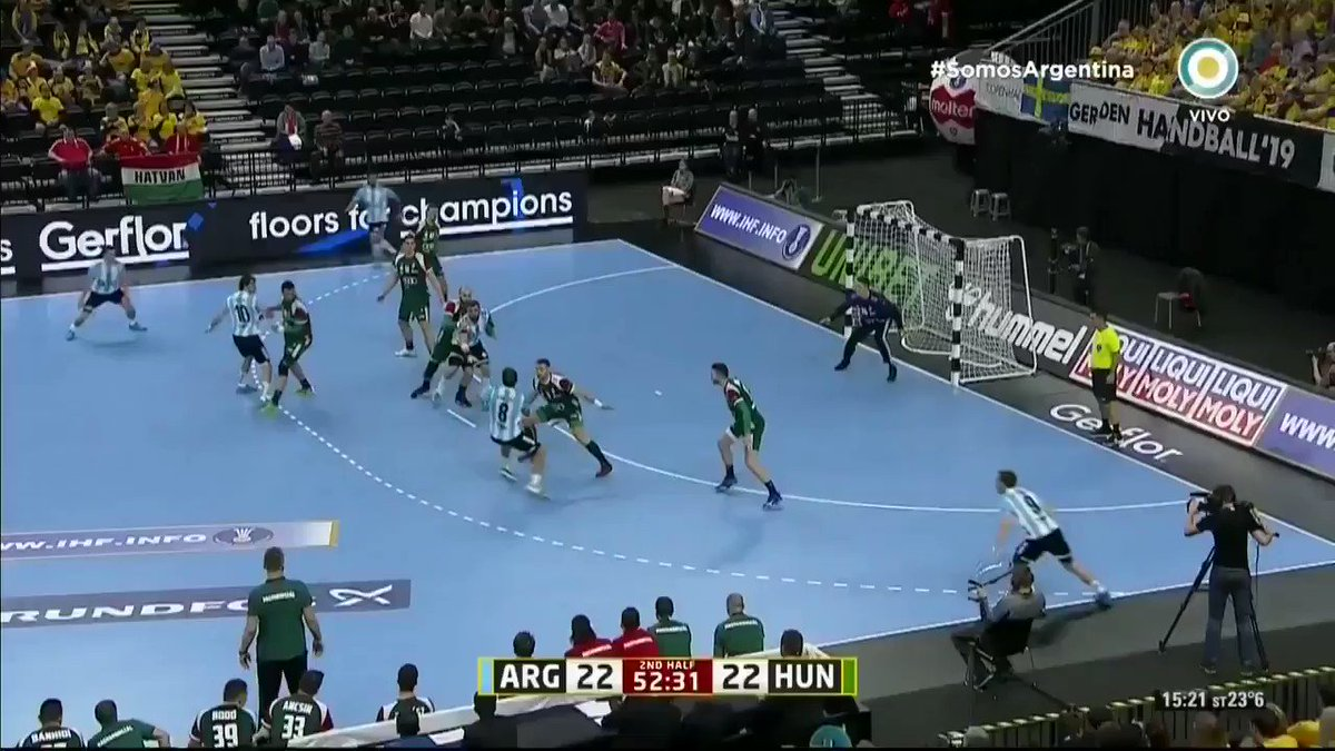Eric Monetti's photo on #HandballWM