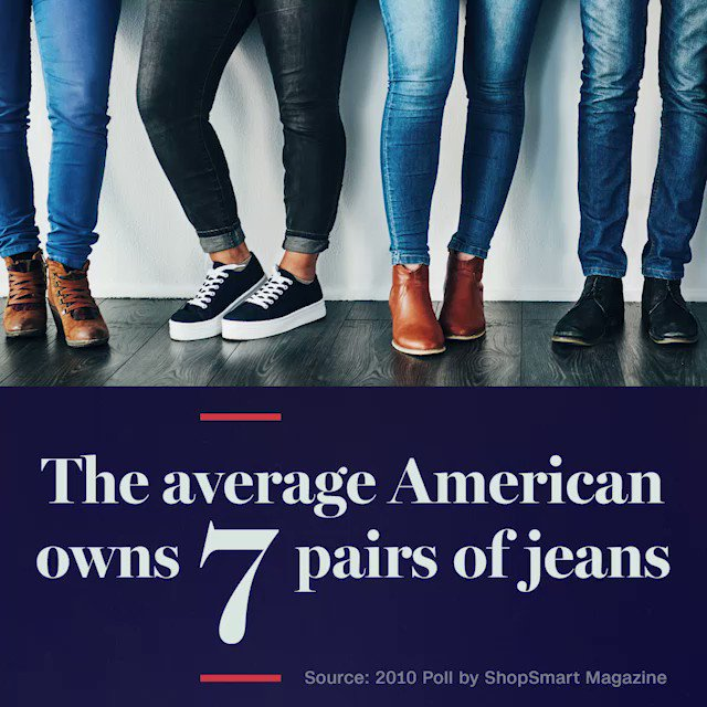 Why do Americans love #denim? See where the love affair started, #AmericanStyle, Sunday at 9p ET on CNN https://t.co/u9i6oLQl8M