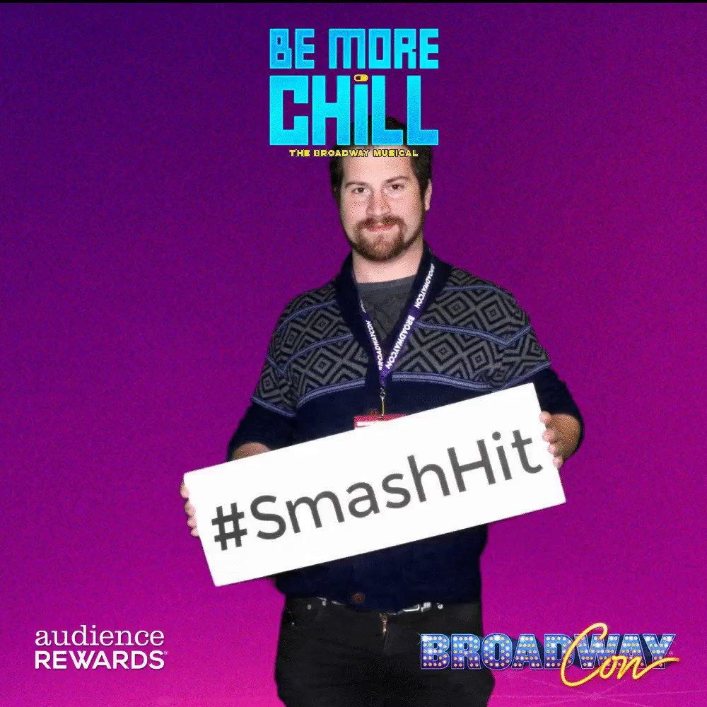 Brendan Noble's photo on #BroadwayCon