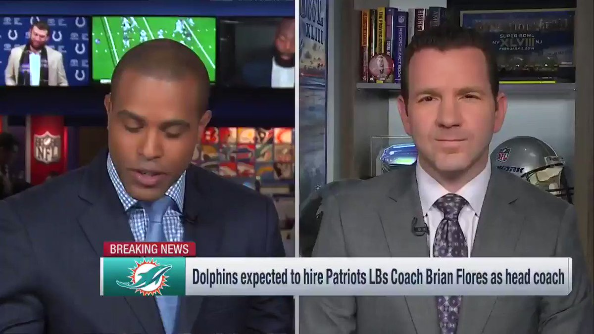 NFL Network's photo on Brian Flores