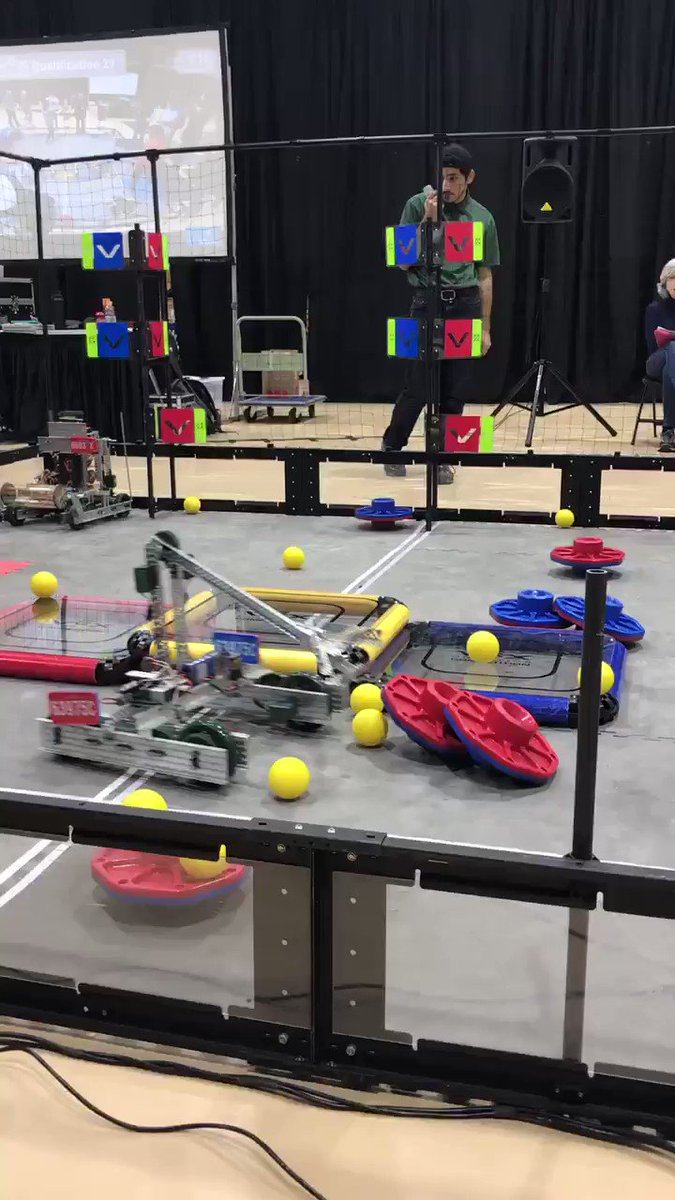 Douglas in control of the robot for one of the Wakefield robotics teams <a target='_blank' href='http://twitter.com/principalWHS'>@principalWHS</a> <a target='_blank' href='http://twitter.com/APS_OEE'>@APS_OEE</a> <a target='_blank' href='http://twitter.com/APS_STEM'>@APS_STEM</a> <a target='_blank' href='http://twitter.com/APS_CTAE'>@APS_CTAE</a> <a target='_blank' href='https://t.co/lbl5yYq3MM'>https://t.co/lbl5yYq3MM</a>