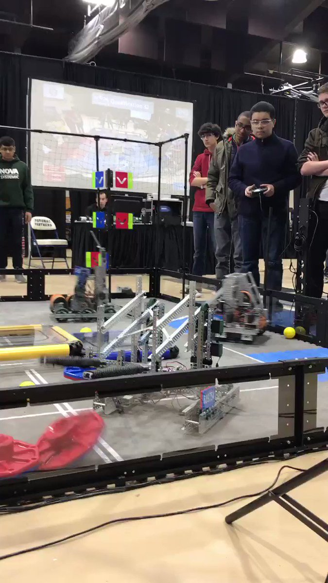 Hugo driving the robot for another Wakefield team <a target='_blank' href='http://twitter.com/principalWHS'>@principalWHS</a> <a target='_blank' href='http://twitter.com/APS_OEE'>@APS_OEE</a> <a target='_blank' href='http://twitter.com/APS_STEM'>@APS_STEM</a> <a target='_blank' href='http://twitter.com/APS_CTAE'>@APS_CTAE</a> <a target='_blank' href='https://t.co/aIOsXOvw8I'>https://t.co/aIOsXOvw8I</a>