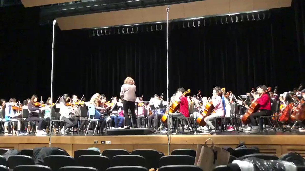 Watching final rehearsal of the district 12 orchestra festival at Wakefield HS!! Can't wait for the concert! <a target='_blank' href='https://t.co/86ERxkX6iK'>https://t.co/86ERxkX6iK</a>