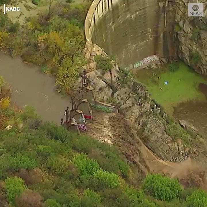MUDDY WATERS: A series of storms crossing through southern California raises mudslide concerns for residents, after rain last week triggered mudslides that closed down the Pacific Coast Highway. https://abcn.ws/2FqGfy5