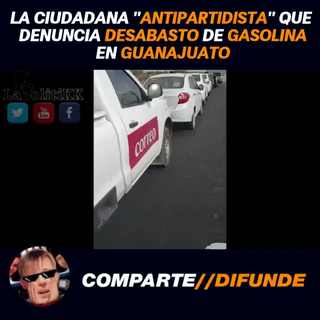 Nefastovich (La PolitiKK)'s photo on #YoApoyoLaLuchaVsHuachicol
