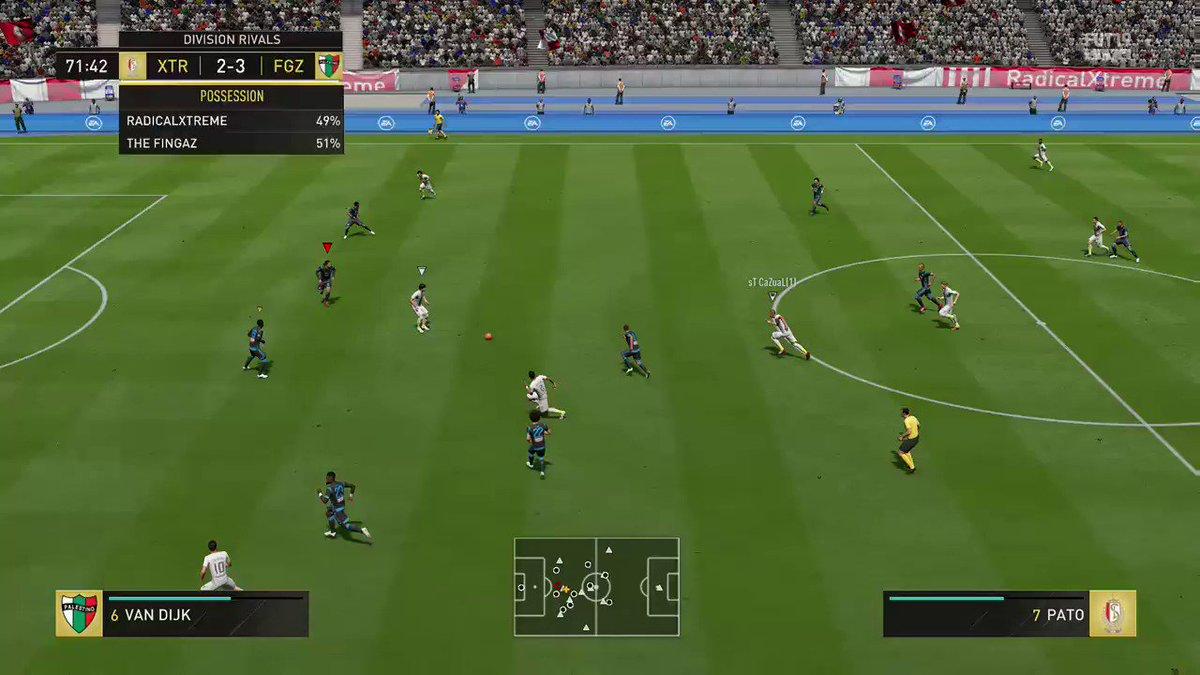 Oi Oi😜😜goal of the year already👌👌 #FIFA19 #XboxShare