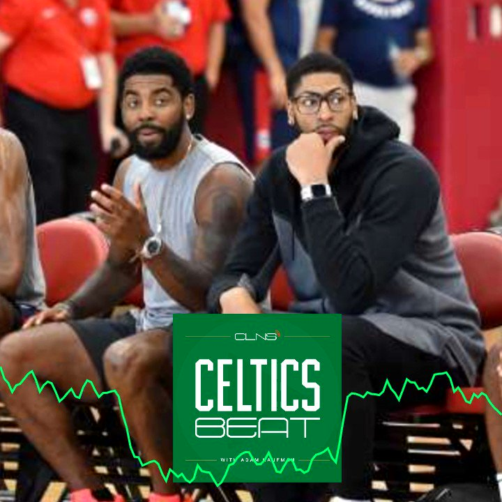 For #Celtics EVERYTHING is on the table for Anthony Davis...well, almost everything.  @celticsvoice tells @AdamMKaufman on the #CelticsBeat podcast why Kyrie Irving HAS TO STAY for Davis deal to make sense for #cusrise   LISTEN: https://youtu.be/rW5atdToP20