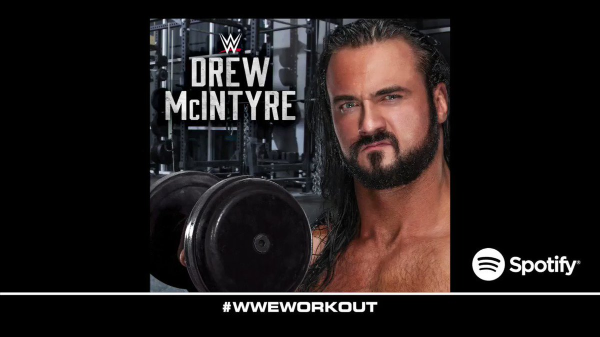 Your next workout could be a #WWEWORKOUT. Tunes curated by @DMcIntyreWWE. Listen now on @Spotify https://spoti.fi/2QNmse6