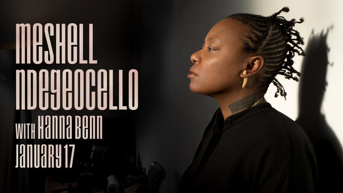 Our #MondayMotivation is to make it to Thursday 💪  We can't wait to see @OfficialMeshell with @HannaBenn!  Get tickets + more info here: https://3tenacl.live/2Qm8lgT