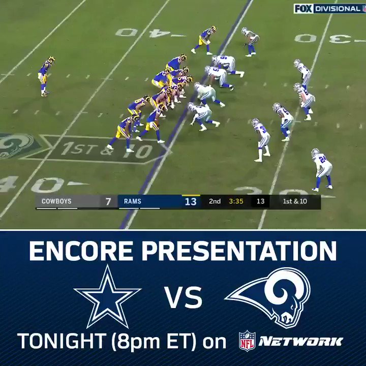 Did you miss any of the #DALvsLAR game? Watch the Encore Presentation at 8pm ET on NFL Network! https://t.co/ghhkYfbmLW