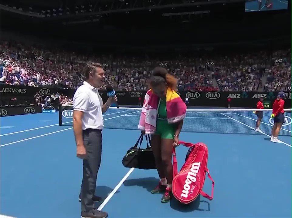 ESPN's photo on Australian Open