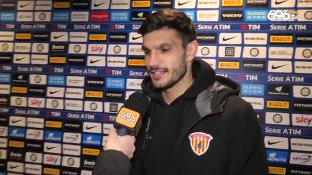 Post gara Inter-Benevento, l'intervento di Alessandro Tuia: «Dispiace per il risultato. Ora pensiamo al Lecce».   #interbenevento #benevento #Tuia #calciatore #giallorosso #strega #Lecce